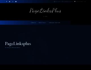 pagelinksplus.com screenshot