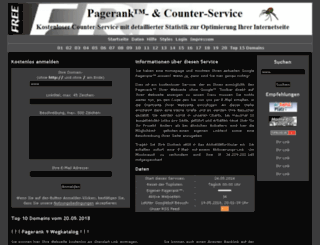 pagerank.scorpions1.de screenshot