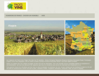pages-vins.fr screenshot