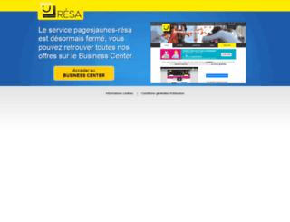 pagesjaunes-resa.fr screenshot