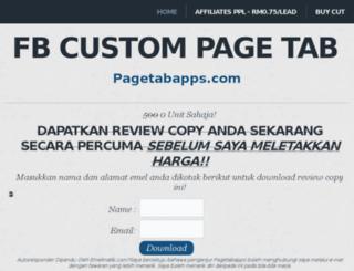 pagetabapps.com screenshot