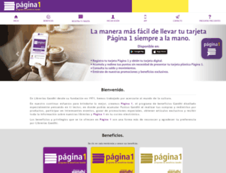 pagina1.com.mx screenshot