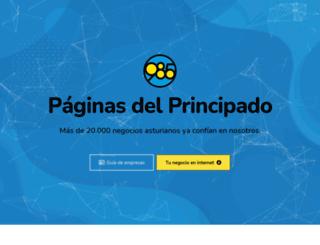 paginasdelprincipado.es screenshot