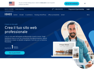 paginaweb.1and1.it screenshot