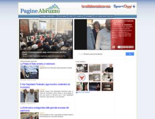 pagineabruzzo.it screenshot