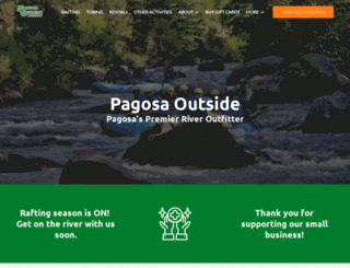 pagosaoutside.com screenshot