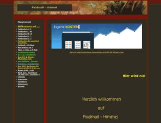 paidmail-himmel.npage.de screenshot