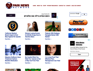 painnewsnetwork.org screenshot