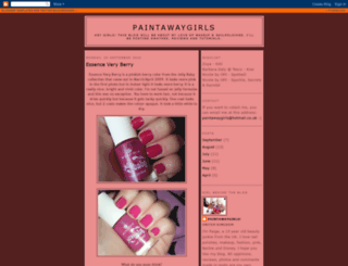 paintawaygirls.blogspot.com screenshot