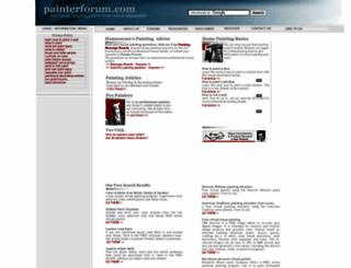 painterforum.com screenshot