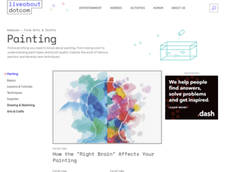 painting.about.com screenshot
