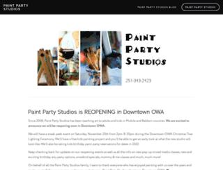 paintpartystudios.com screenshot