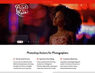 paintthemoon.net screenshot