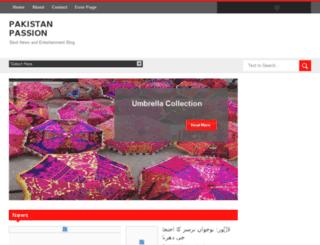 pakistan-passion.blogspot.com screenshot
