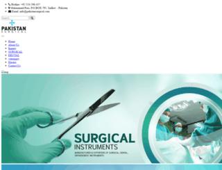 pakistansurgical.com screenshot