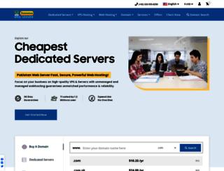 pakistanwebserver.com screenshot