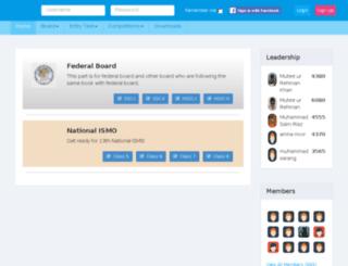 pakturkonlinetesting.com screenshot