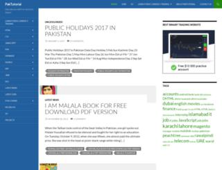 paktutorial.com screenshot
