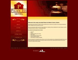 palaceinnsarnia.com screenshot