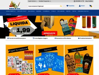 palaciodaarte.com.br screenshot