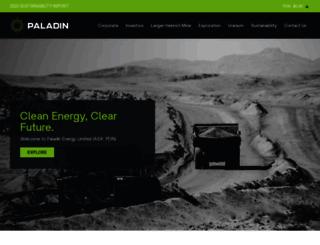 paladinenergy.com.au screenshot