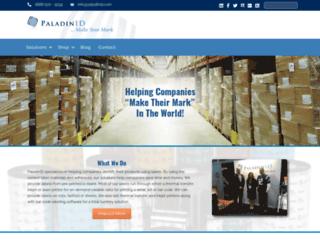 paladinid.com screenshot