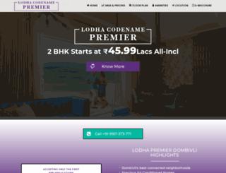 palavacity-lodha.com screenshot