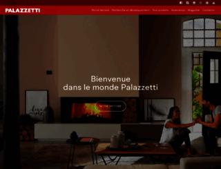 palazzetti.fr screenshot
