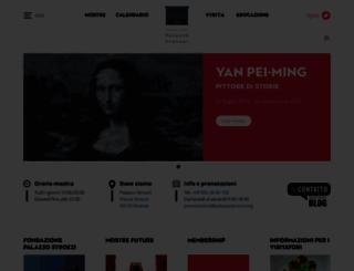 palazzostrozzi.org screenshot