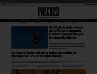 palco23.com screenshot
