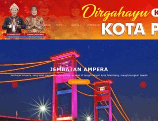 palembang.go.id screenshot
