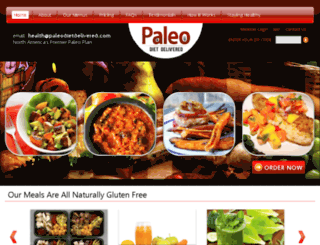 paleodietdelivered.com screenshot