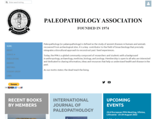 paleopathology-association.wildapricot.org screenshot