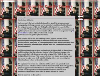 palin4president2016.blogspot.co.nz screenshot