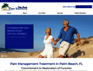 palmbeachpaininstitute.eboz.com screenshot