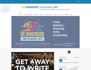 university of california riverside mfa creative writing Creative writing graduate programs might be a great opportunity to develop your often called mfa in creative writing university of california - riverside.