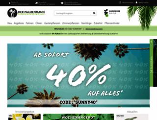 palmenmann.de screenshot