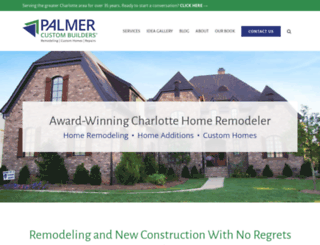 palmercustombuilders.com screenshot
