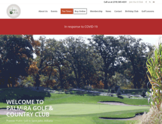 palmiragolf.com screenshot