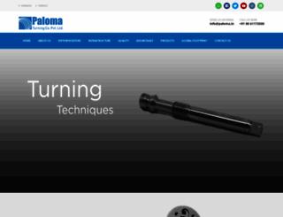 palomaturnedparts.com screenshot