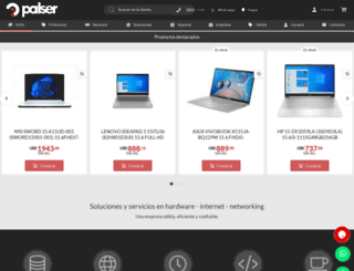 palser.com screenshot