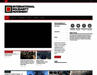 palsolidarity.org screenshot