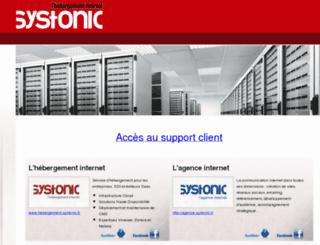 paltz.systonic.com screenshot