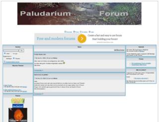 paludarium.forumieren.com screenshot