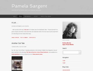 pamelasargent.com screenshot
