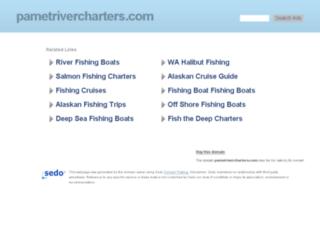 pametrivercharters.com screenshot