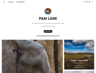 pamlane.exposure.co screenshot