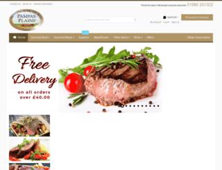 pampasplains.com screenshot