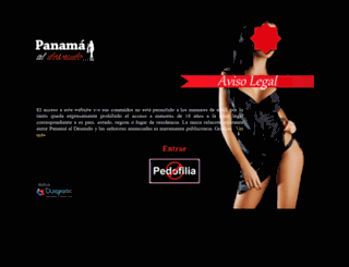 panamaaldesnudo.com screenshot