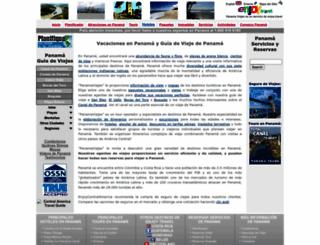 panamaviajes.com screenshot